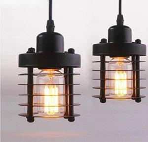 2 Aero Snail Industrial Pendant Lights