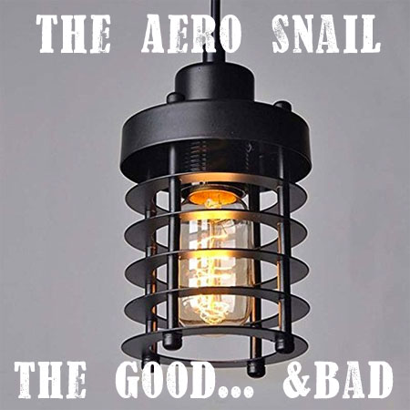 Aero Snail Pendant Lamp: The Good and the Bad