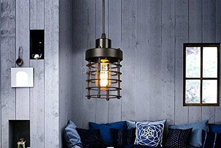Aero Snail Hanging Pendant Lamp