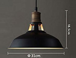 Barn Pendant Light Measurements