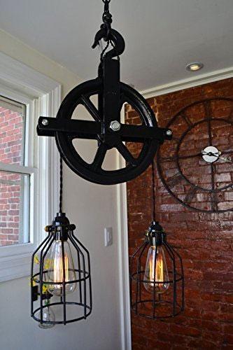 Barn Pulley Light Creates Feel In Any Room